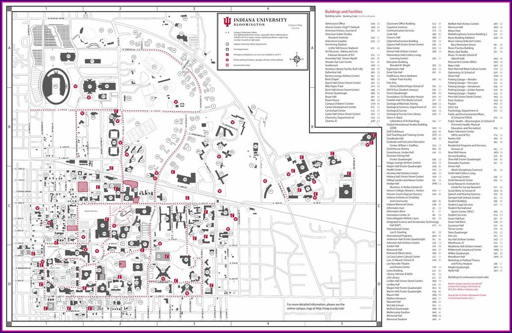 Iu Campus Map Lindley Hall