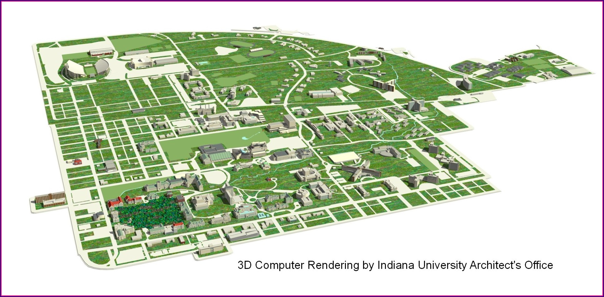 Iu Campus Map Pdf