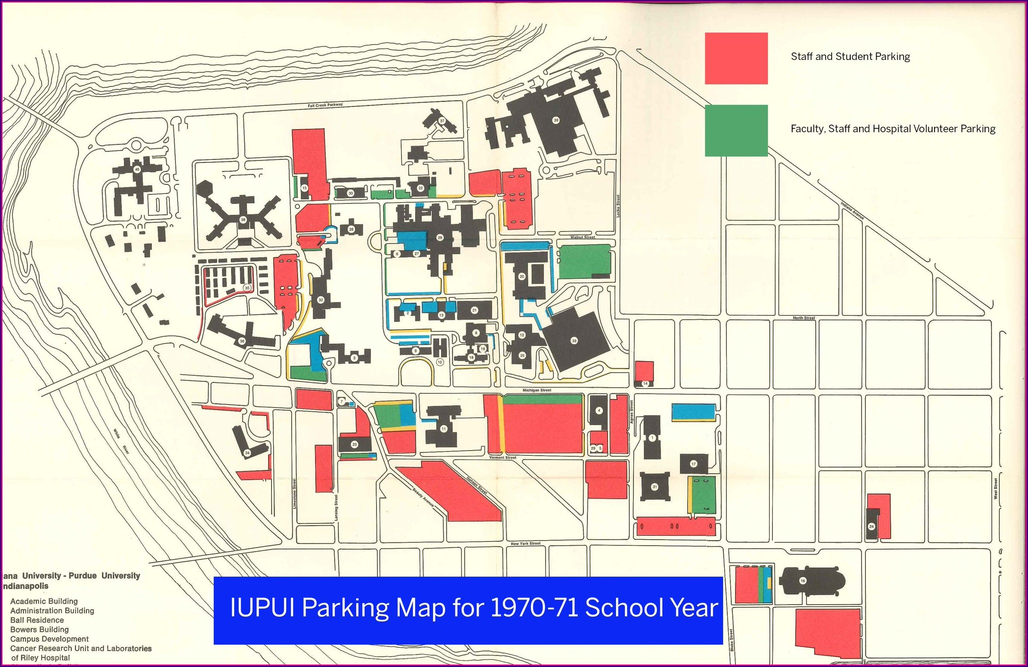 Iupui Campus Map Parking