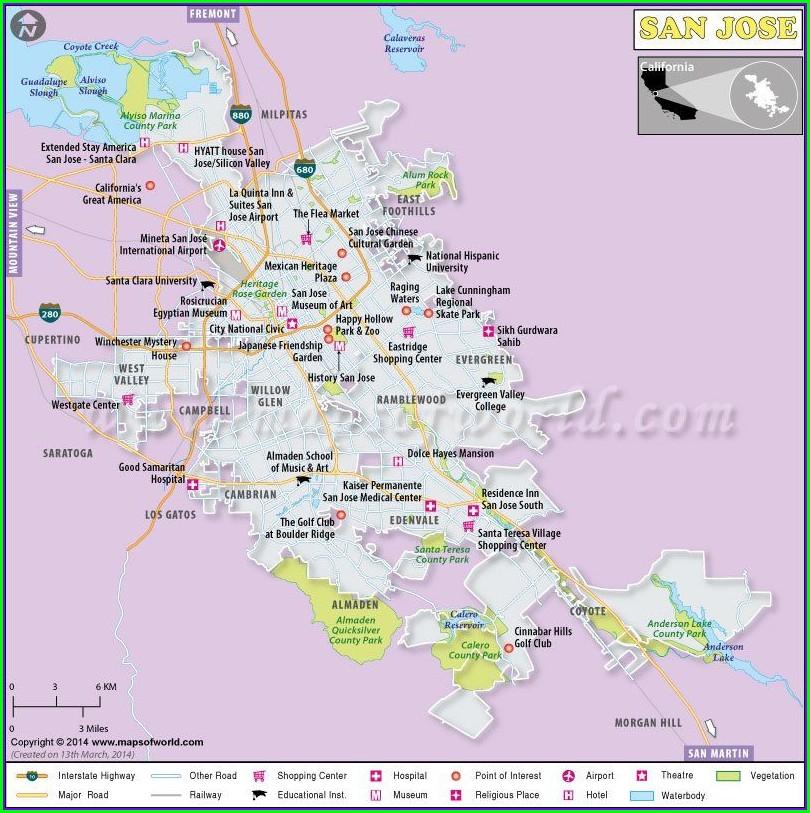Kaiser Santa Clara Map Pdf