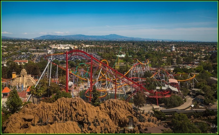 Knotts Berry Farm Map 2020