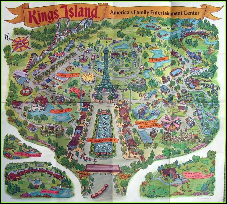 Knotts Berry Farm Map California