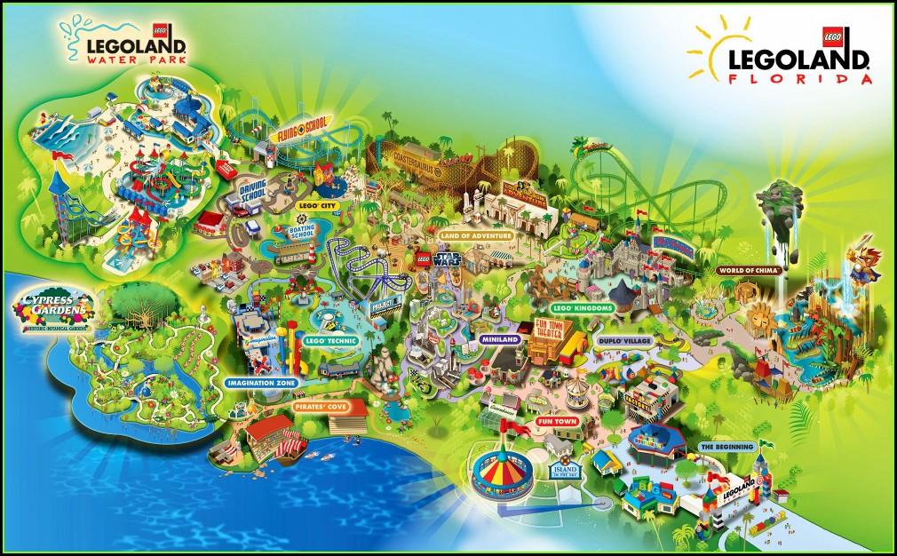 Legoland Florida Map 2018