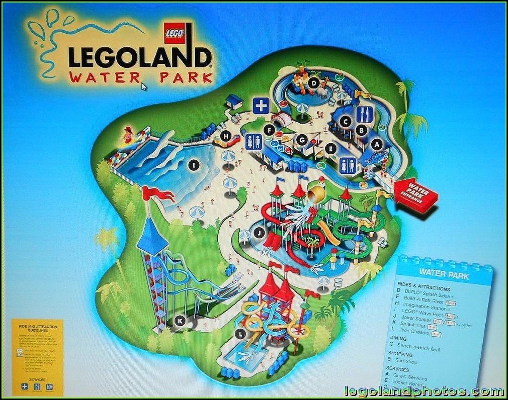 Legoland Florida Water Park Map