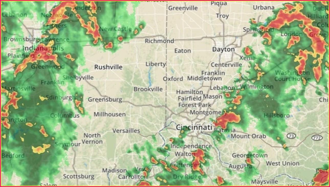 Live Radar Map Indiana