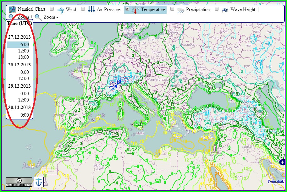 Live Weather Radar Map Europe