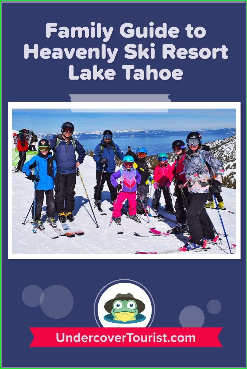 Map Of Tahoe Ski Resorts