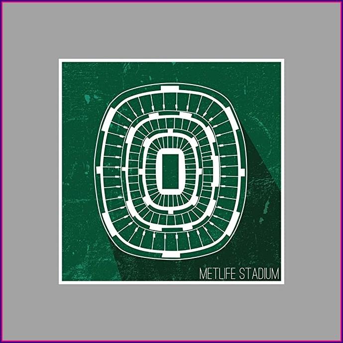 Metlife Stadium Seating Map