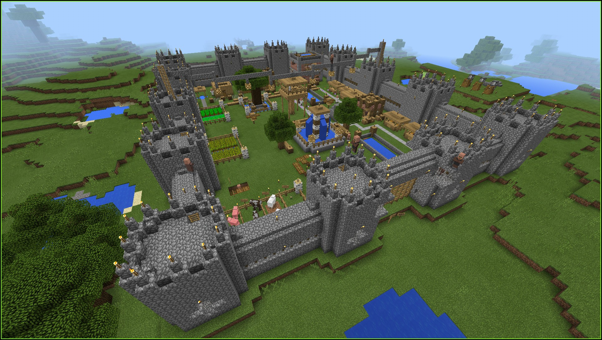 Minecraft Castle Map Download
