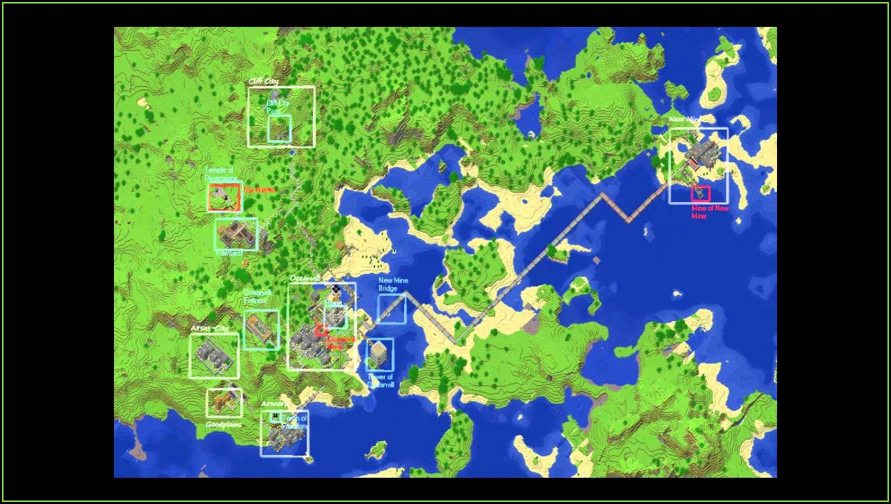 Minecraft World Map Download