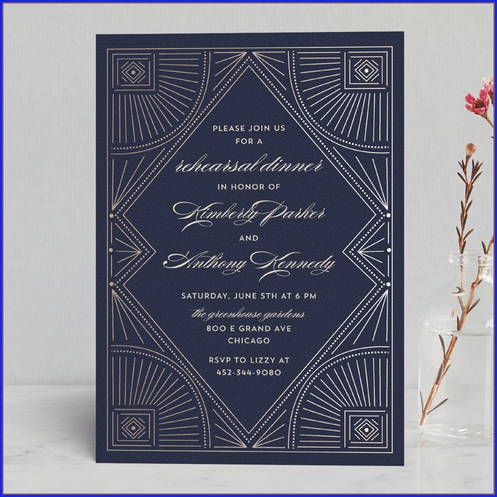 Minted Wedding Rehearsal Invitations (10)