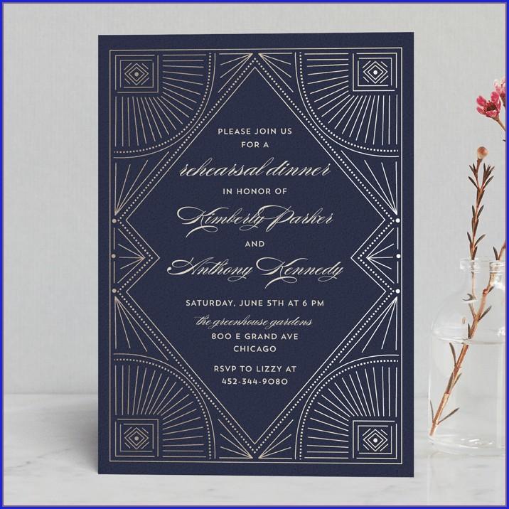 Minted Wedding Rehearsal Invitations (10)