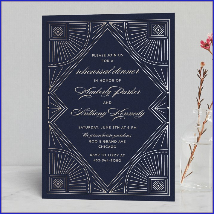 Minted Wedding Rehearsal Invitations (12)