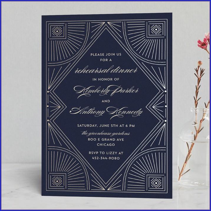 Minted Wedding Rehearsal Invitations (12)