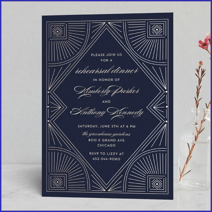 Minted Wedding Rehearsal Invitations (13)