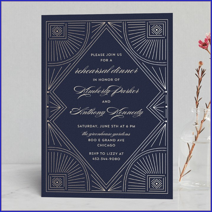 Minted Wedding Rehearsal Invitations (15)
