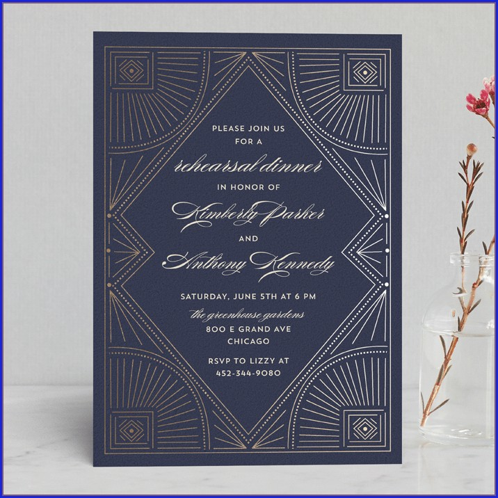 Minted Wedding Rehearsal Invitations (2)