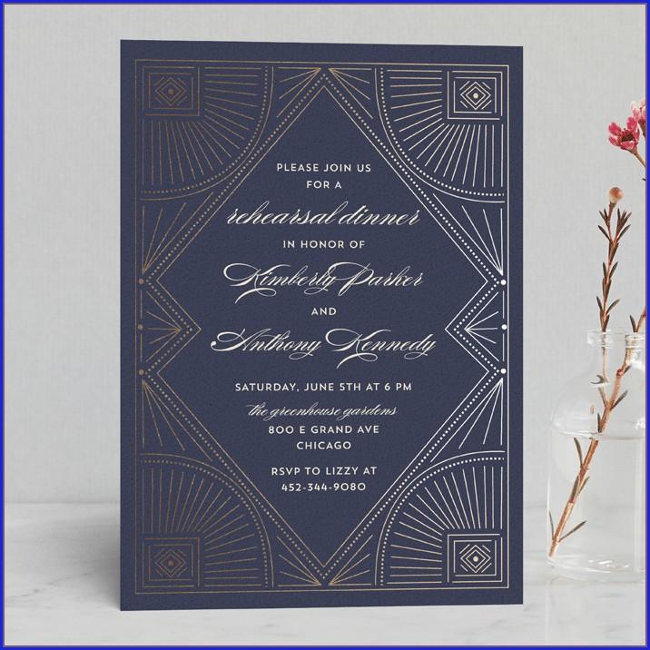 Minted Wedding Rehearsal Invitations (3)