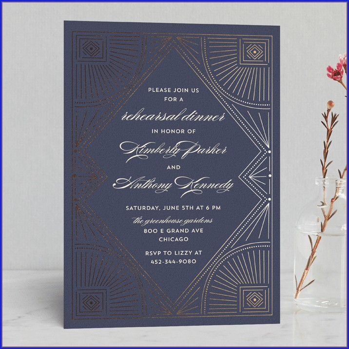 Minted Wedding Rehearsal Invitations (5)