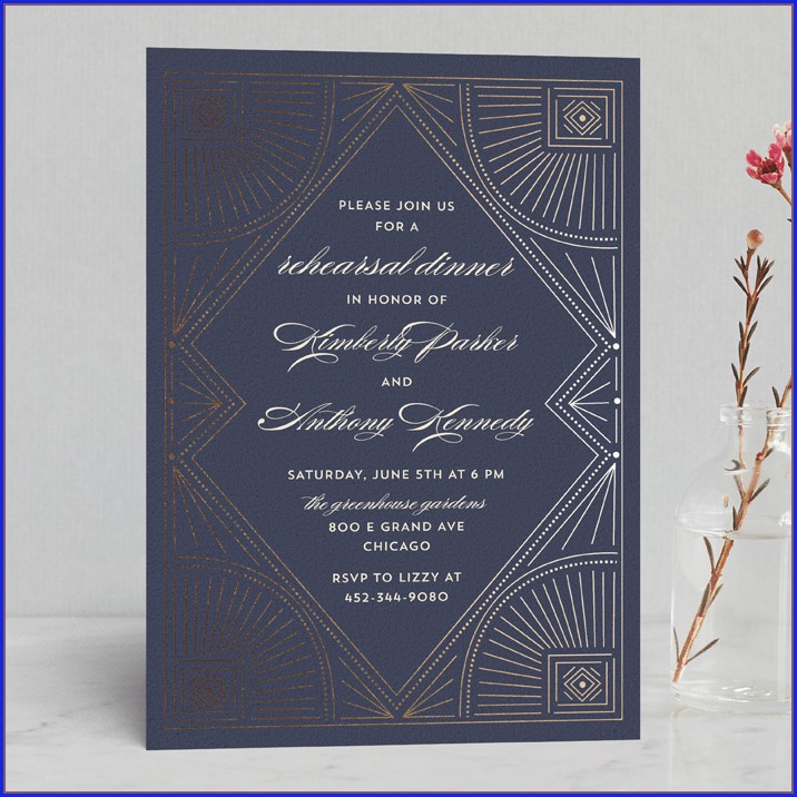 Minted Wedding Rehearsal Invitations (6)