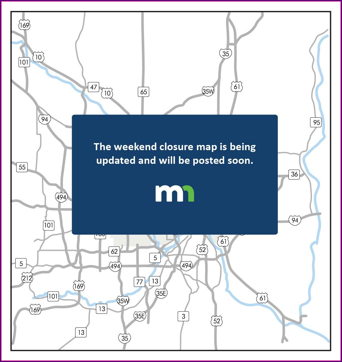 Mndot Road Conditions Map