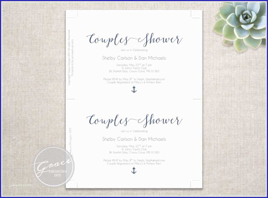 Monetary Gifts Only Wedding Invitations