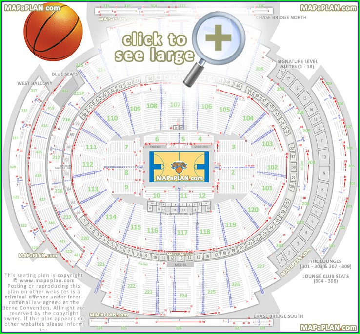 Msg Seat Map With Seat Numbers
