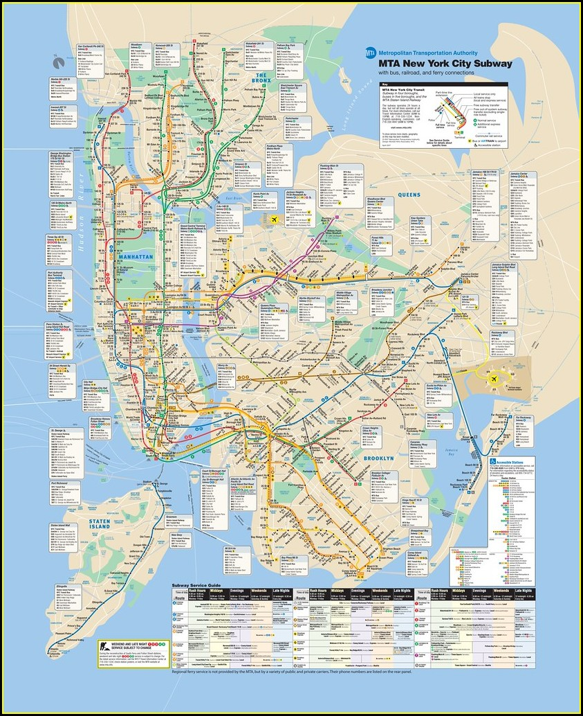 Mta Bus Map Pdf