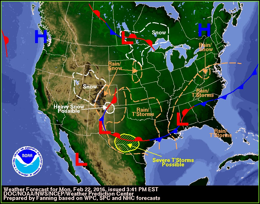 National Radar Map For Saturday