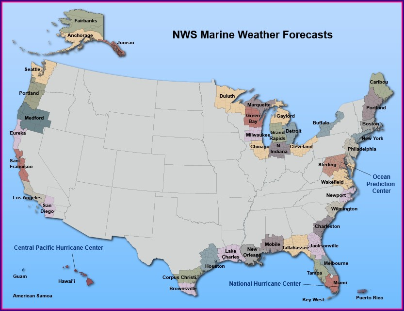 National Weather Service Map Click