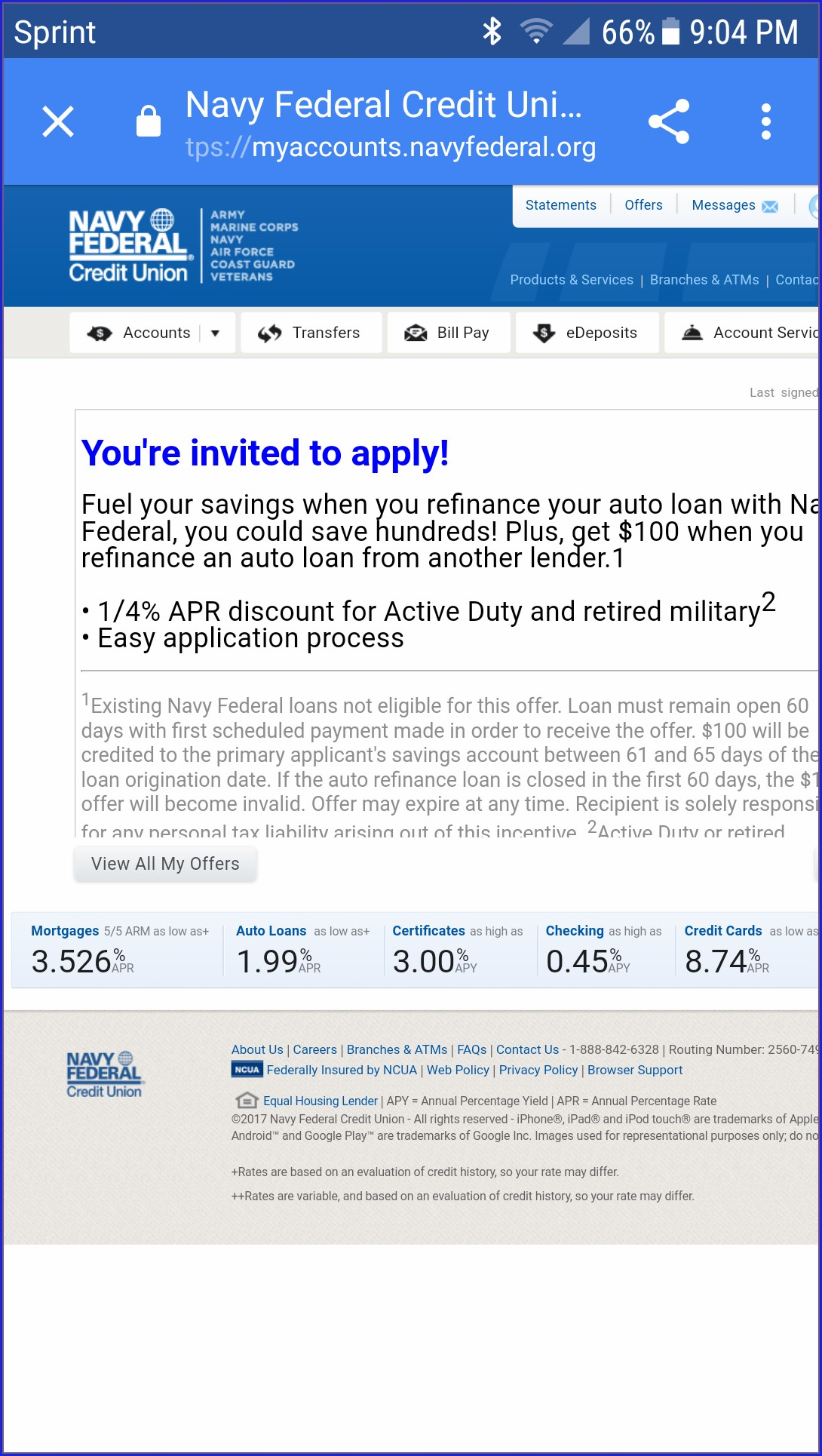 Navy Federal Invite Friends