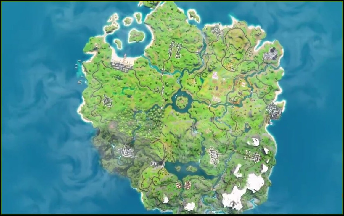 New Fortnite Update Map Chapter 2