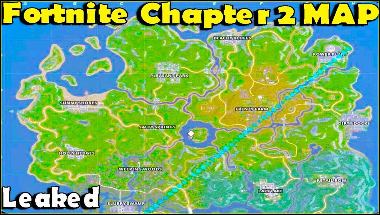 New Leaked Fortnite Map Season 11