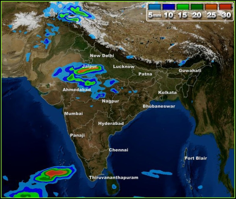 New Weather Forecast Map India