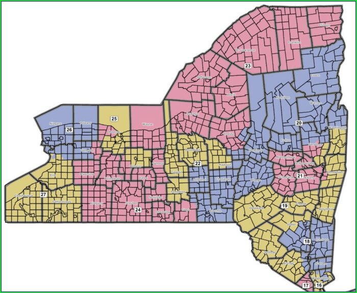 Nys Assembly District Map 2019