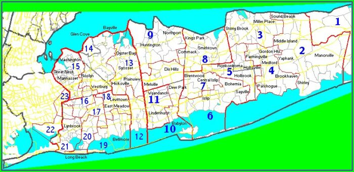 Nys Assembly District Map Long Island