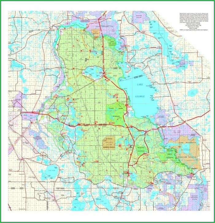 Ocala National Forest Atv Trail Map