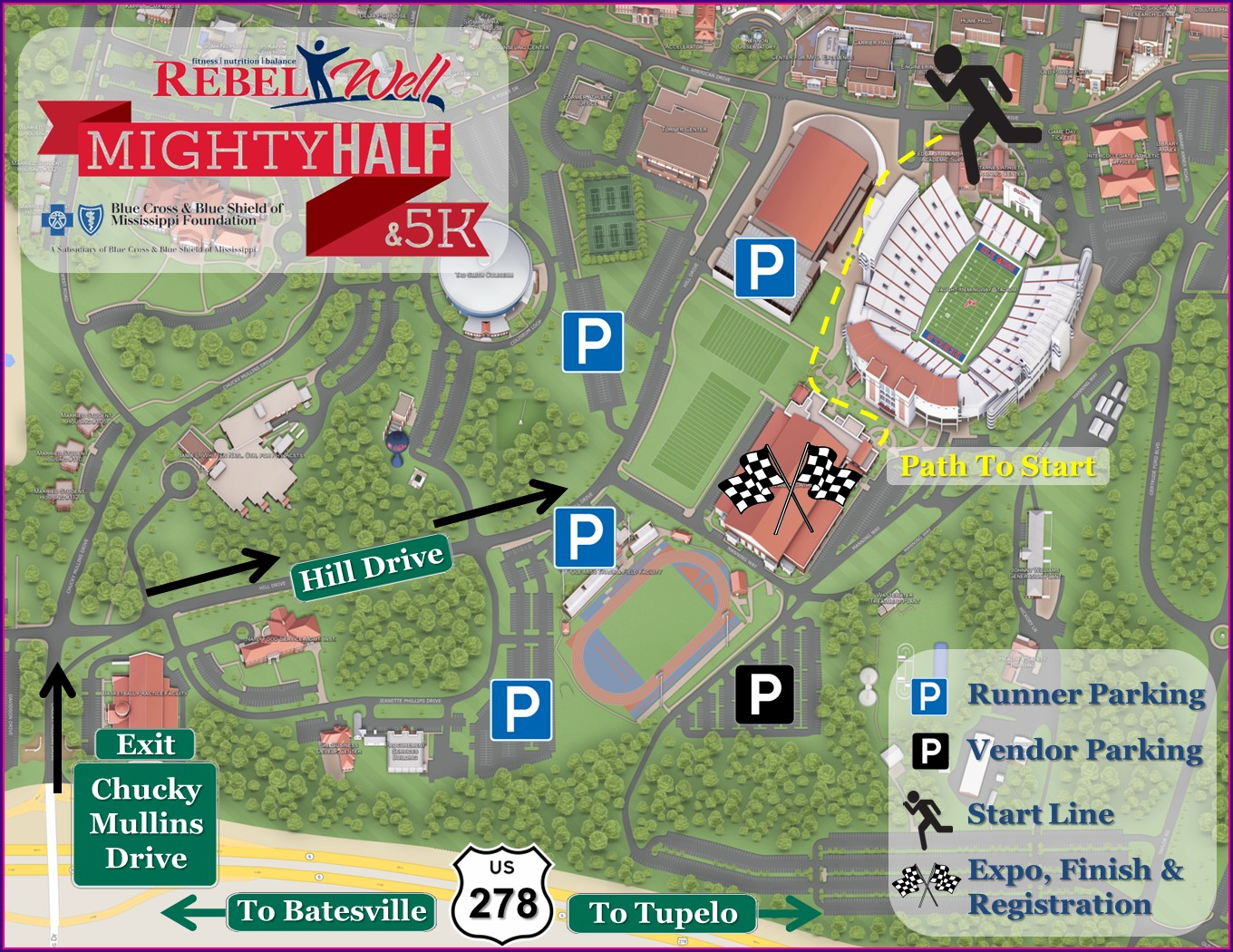 Ole Miss Campus Map Pdf