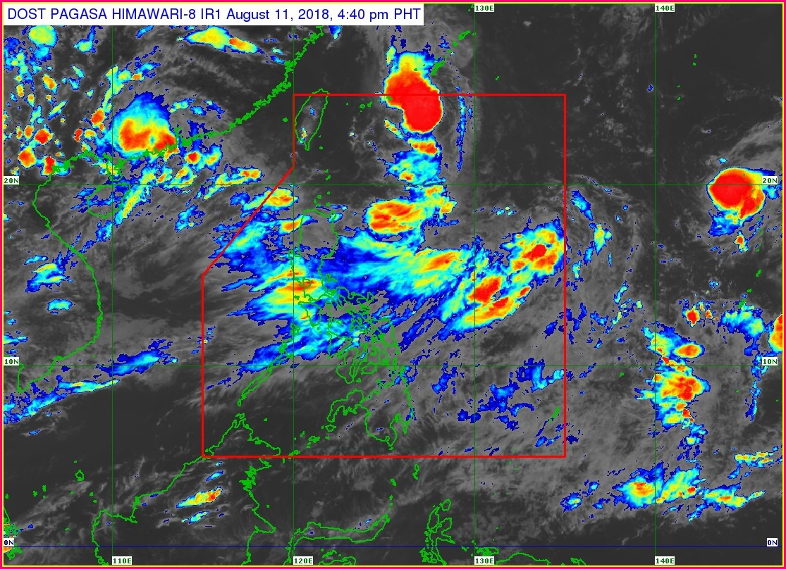 Pagasa Weather Map Philippines
