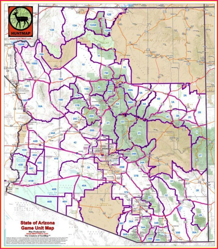 Pdf Nevada Hunt Unit Map