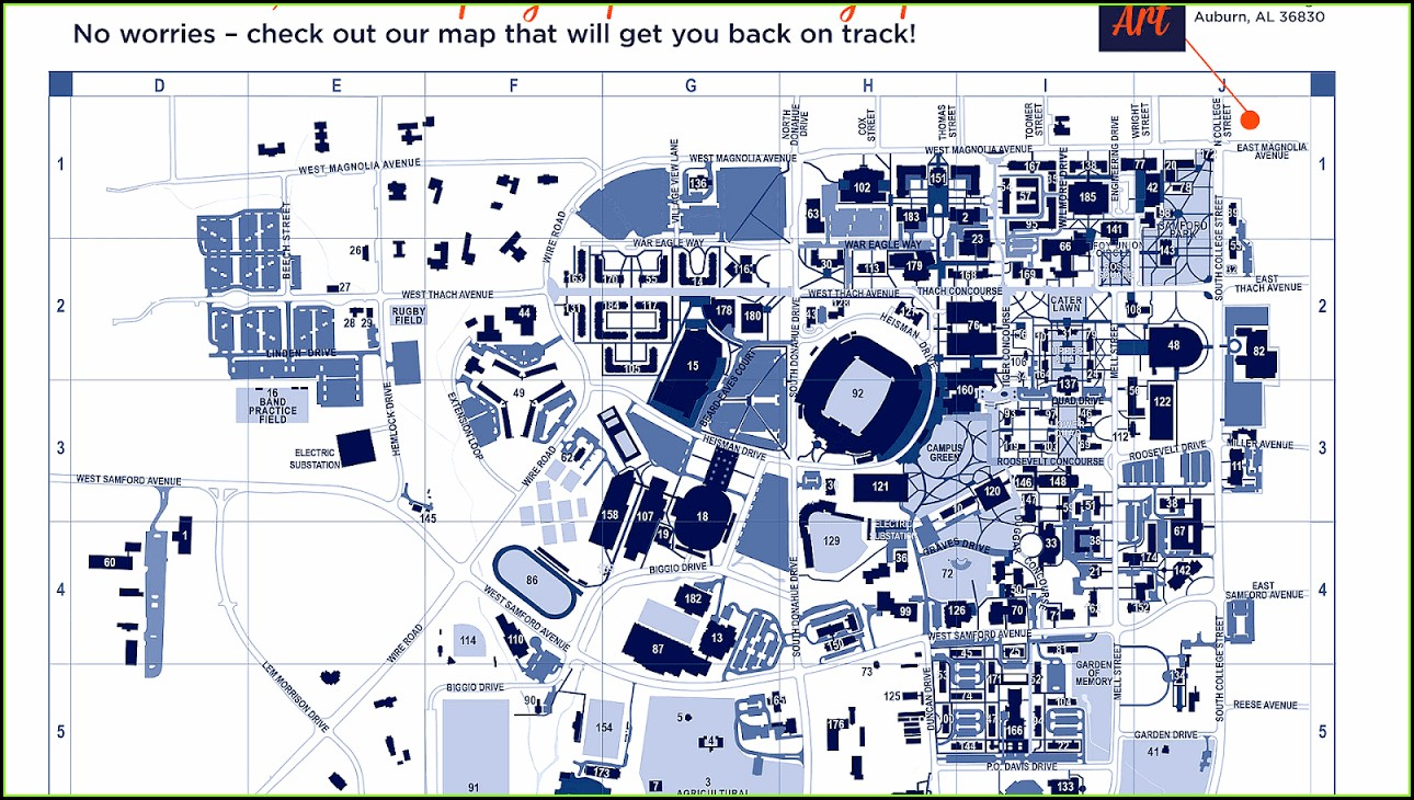 Penn State Branch Campus Map