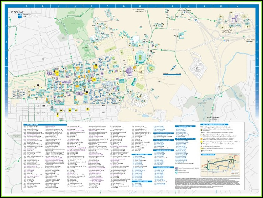 Penn State Campus Map