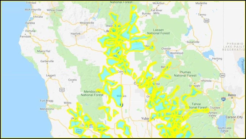 Pge Outage Map Oregon