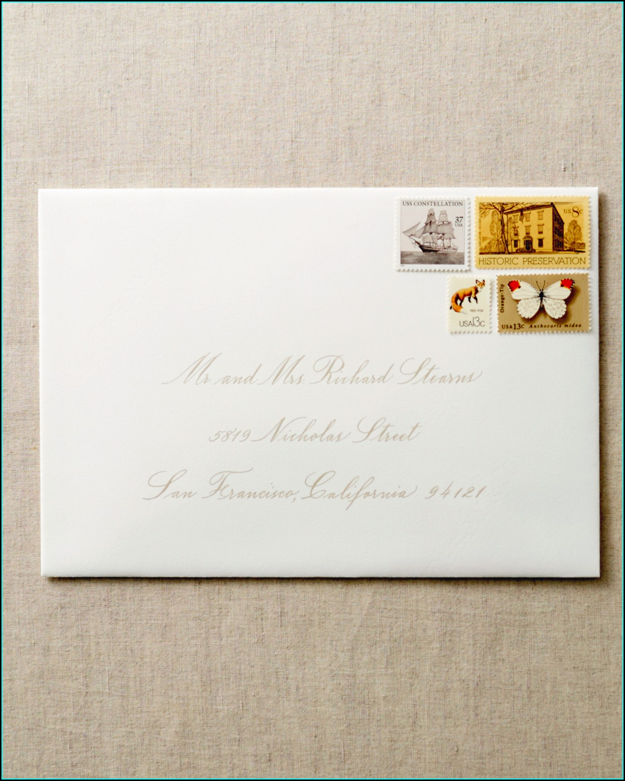 Proper Addressing Of Wedding Invitation Envelopes