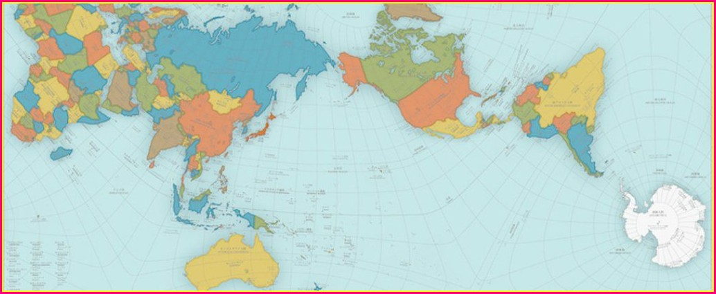 Proportionally Accurate World Map Interactive