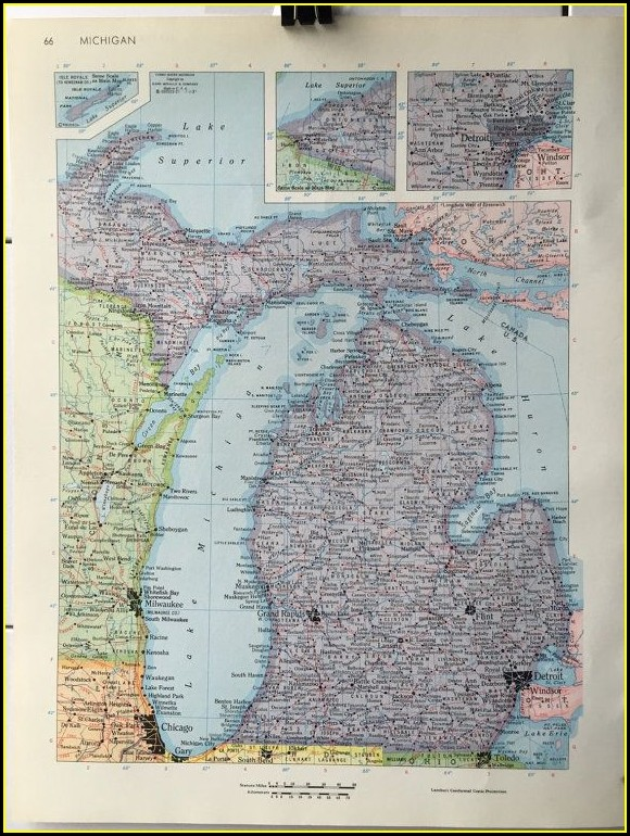 Rand Mcnally Vintage Maps