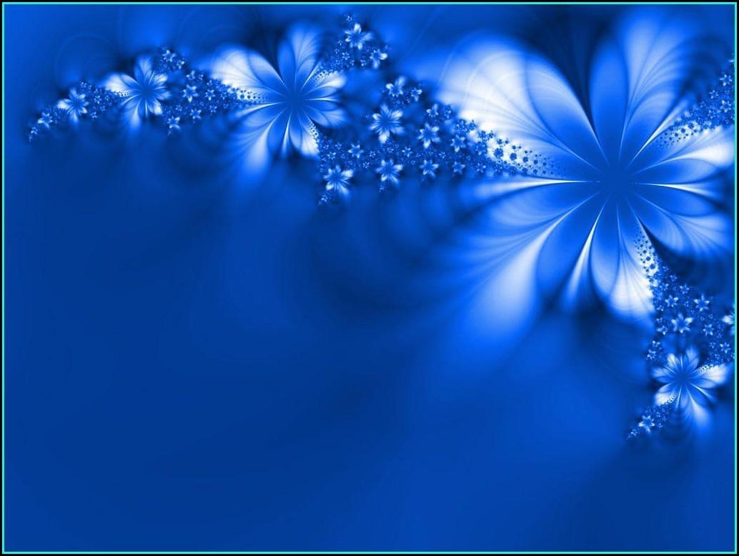 Royal Blue Wedding Invitation Card Background