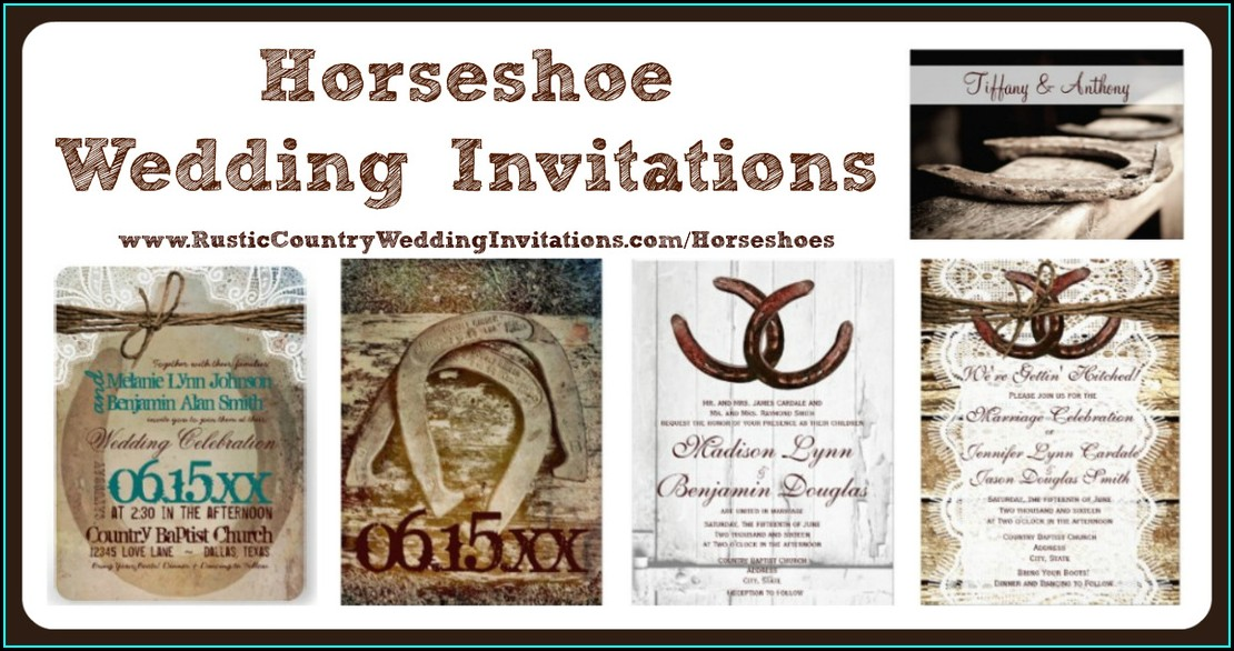 Rustic Country Wedding Invitation Sets