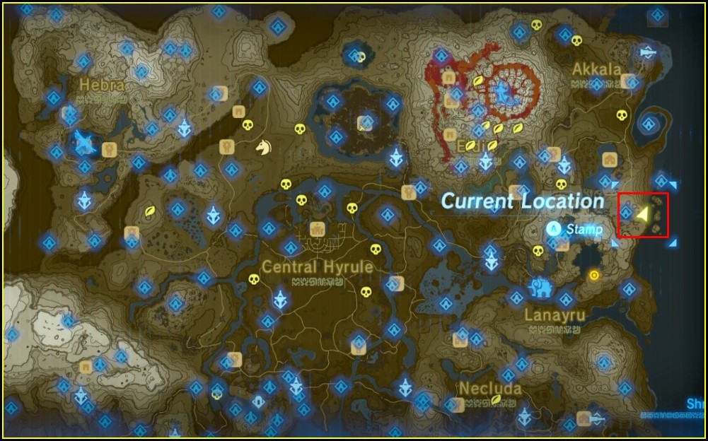 Shrine Map Botw Hd