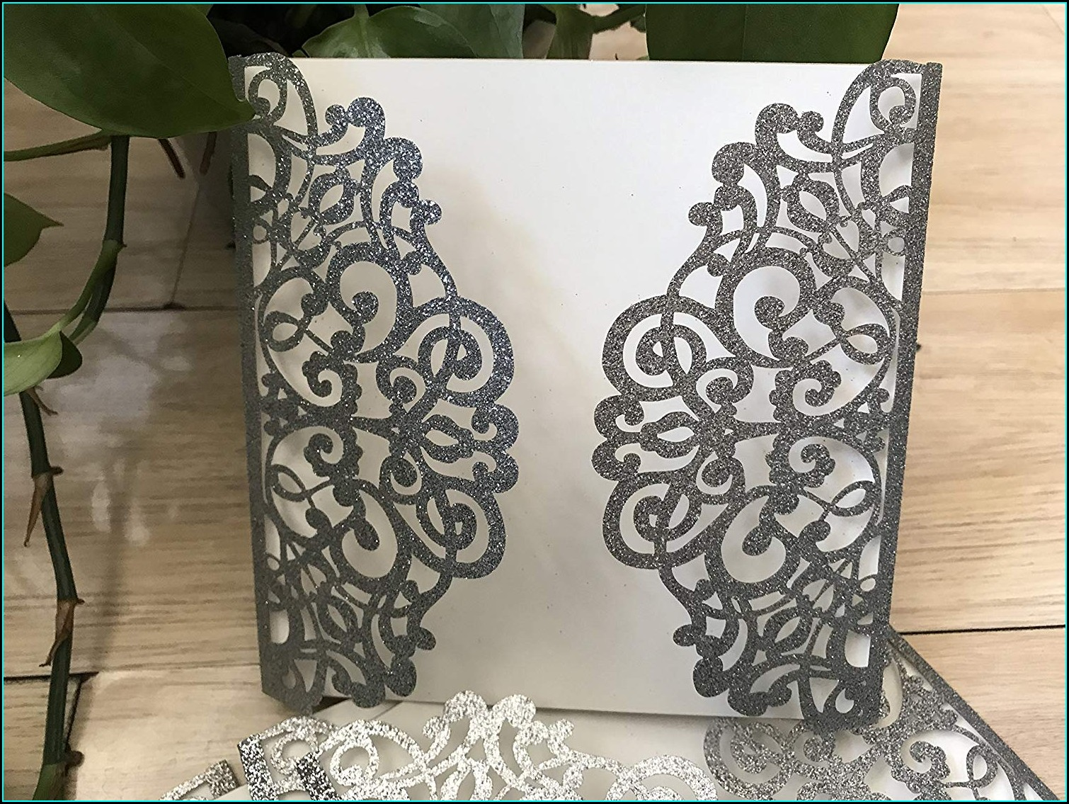 Silver Wedding Invitation Cards Wordings